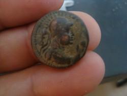 Kushan Birodalom Tetradrachma!!!8gr bronz