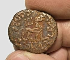 Indoszkíta Azes II, bronz hexachalkon 12.6gr!!