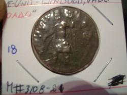 Kushan Birodalom Tetradrachma!!!RRR bronz 17.5gr