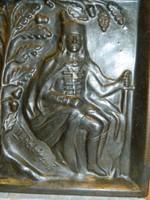 Régi Karcag Rúsói kerámia falikép:II.Rákóczi