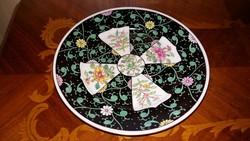 Herendi Siang Noir  mintás süteményes  tányér