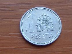 SPANYOL 1 PESETA 1985 ALU.