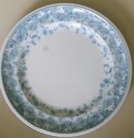 LISBON FURNIVALS ENGLAND R.M.244 521lapos tányér világoskék mintájú mérete:24cm