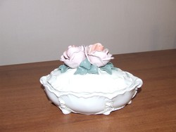 Karl Ens rózsás bonbonier