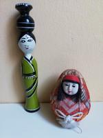 Japán kézműves babák