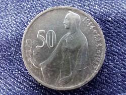 Csehszlovákia Szlovák felkelés .500 ezüst 50 Korona 1947/id 9491/