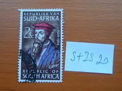 DÉL-AFRIKA 2-1/2 C 1964 KÁLVIN halálának 400. évfordulója (protestáns reformátor) S+ZS20