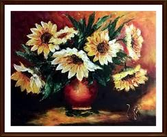 Egy emlék hozzád - ( 50 x 40 , olaj, festőkéses )
