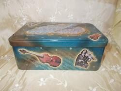 Felhúzható kulcsos zenélő doboz fémdoboz zenedoboz