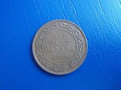 Kanadai 1 cent 1918
