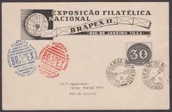1943. Brazilia, boríték (1)