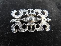Antik ezüst bross - jelzett 925 -ös ezüst