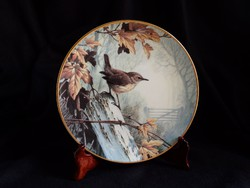 Wedgwood madaras (ökörszem)  tányér
