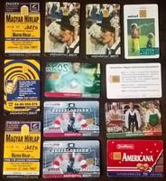 Telefonkártyák ( ~ 115 db )