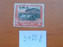 DÉL-NYUGAT AFRIKA 3 D 1931 Légiposta  S+ZS8