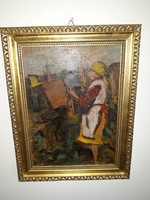 TIBOR ERNŐ: eredeti festménye