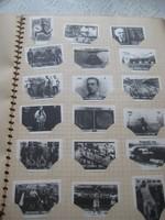 Gyufáscimke album  1500 db  ebből 30 db nagyméretű  , szép állapot