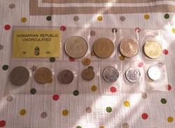 1995 forgalmi sor,és egy arany érme