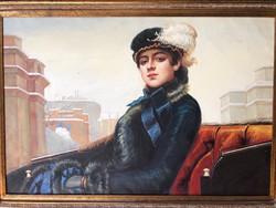 Ivan (nikolaevich) kramskoy-Неизвестная ,portré ismeretlen nőről