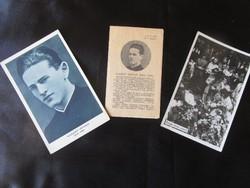TISZTELETREMÉLTÓ KASZAP ISTVÁN magyar jezsuita novicius GYÜJTEMÉNY 1936