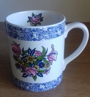 Angol teas porcelan csesze  10 x 7.5 cm