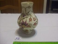 Zsolnay orchidea mintás váza