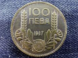 Bulgária III. Borisz (1913-1943) .500 ezüst 100 Leva 1937 (Körmöcbánya)/id 9479/