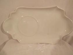 Porcelán - jelzett - antik - Német - reggeliző tálca - csésze, süti tartó - 27 x 15 cm - hibátlan