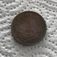 1868 KB 4 Királyi váltó pénz