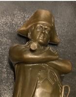 Napóleon nagymeretu bronz szobor eladó!Ara:80.000.-