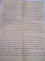 Kecskeméti Katona József Színház szaksz. karácsonyi levele 1953