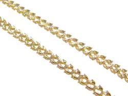 Arany női nyakék (D25-Au81338)
