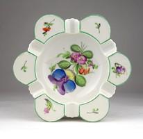 0X624 Herendi nagyméretű porcelán hamutál