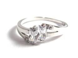 Ezüst női köves gyűrű (D25-Ag81024)