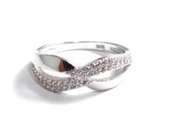 Ezüst női köves gyűrű (D25-Ag81041)