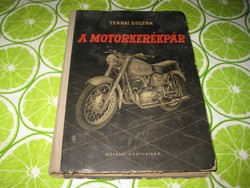 Ternai  Z. A motorkerékpár  1961     színes melléklettel
