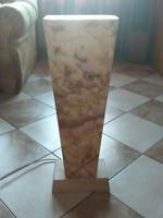 Dekor lámpa ONYX kőből