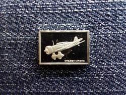 USA Franklin Repülős Mini-Ingot Gyűjtemény Mitsubishi Karigane .925 ezüst 1979/id 10106/