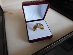 Arany 18 k Női gyűrű   13 gr