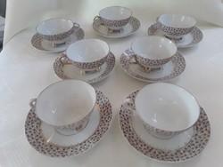 Antik szecessziós teás csésze és alj / 2526