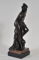 Christophe Gabriel Allegrain (1710-1795): Bronze Venus figure, Barbedienne