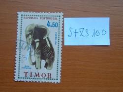 PORTUGÁL TIMOR 4,5 E 1961 Művészet S+ZS100