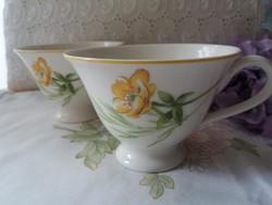 Villeroy&Boch virágos csésze
