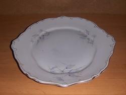 Régi Hollóházi porcelán kínáló tál tányér 25*27 cm (ap)