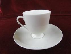 Fürstenberg német porcelán, teáscsésze + alátét.