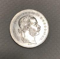 Ferenc József ezüst 1 Forint 1879 KB