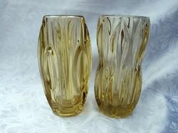Cseh üveg vázapár