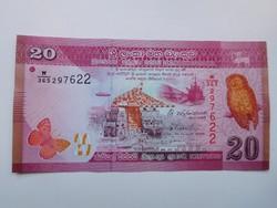 Sri Lanka 20 rupees 2015 UNC