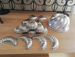 Régi Fém sütőformák