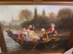 Cesare Agostino Detti festmény után